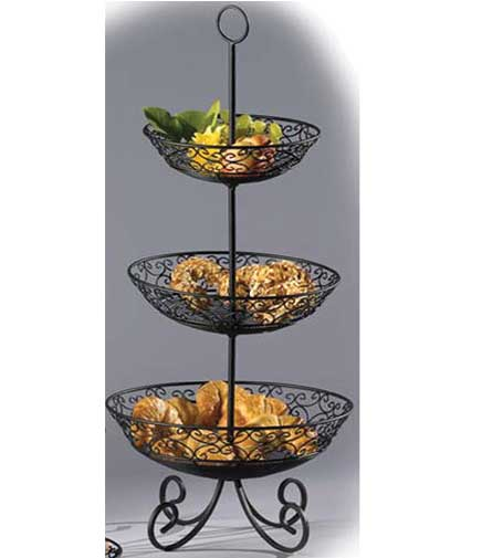 Magnificent 3 Tier Wire Basket Stand Photos - Electrical Circuit ...