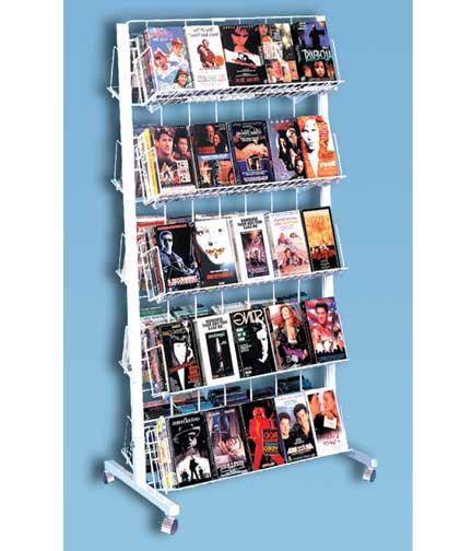 Rolling Wire Rack | Super Market Merchandising