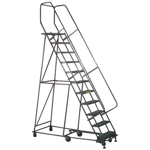76026, Mobile Ladder, 10 Step Mobile Safety Stairs